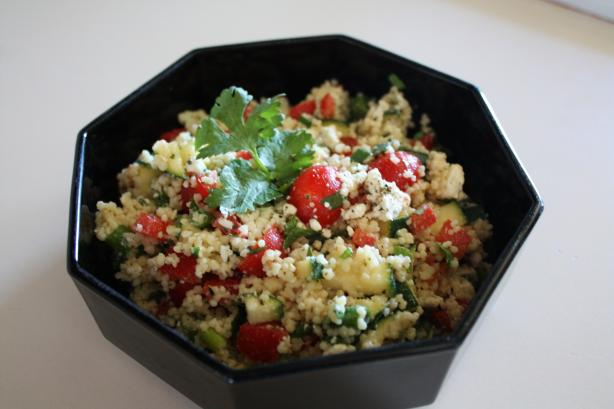 Couscous and Cherry Tomato Salad