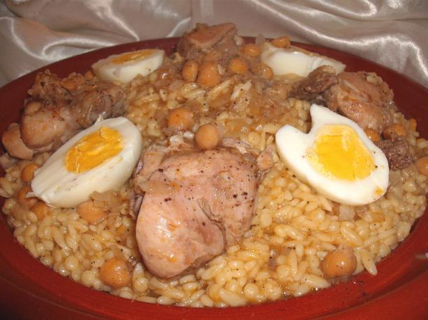Algerian Tli Tli B'djedj - Pasta With Chicken!