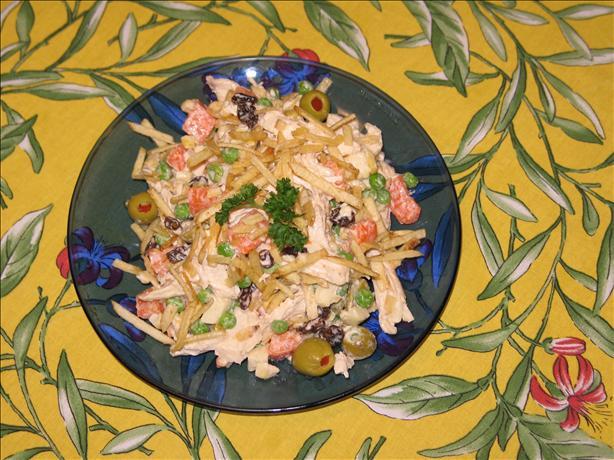 Brazilian Chicken Salad Aka Salpicao Especial De Galinha