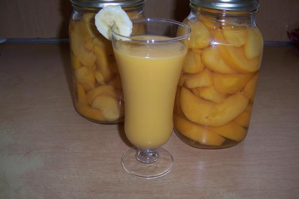 Ww Banana Peach Smoothie (Ibs Safe)
