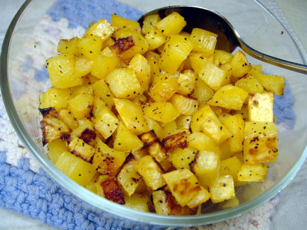 Maple Glazed Rutabaga