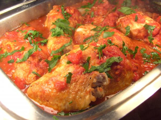 Spanish Chicken With Peppers