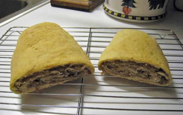 Cabinkat's Sweet Kolaché Nut Roll