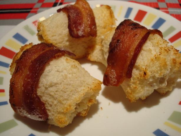 Bacon and Sausage Roll-Ups
