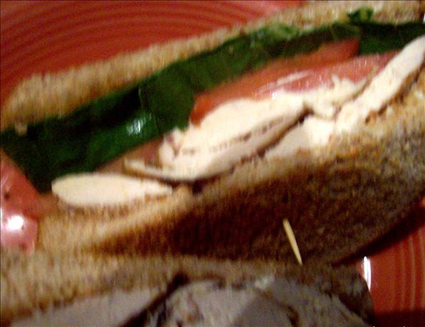 Chicken Caesar BLT Sandwich
