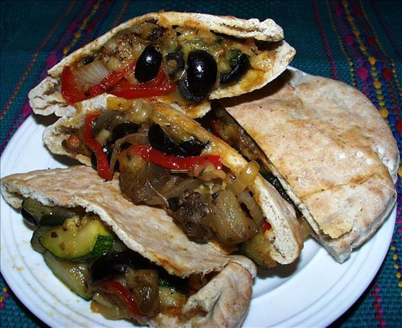Veggie Pita Subs