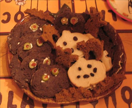 Halloween Sandwich Treats