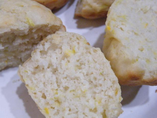 Yellow Summer Squash Muffins