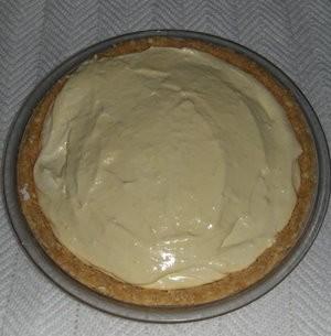 Fluffy Orange Pie