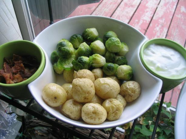 Do It Yourself Baby Potatoes Great Appetizers for the Holidays!