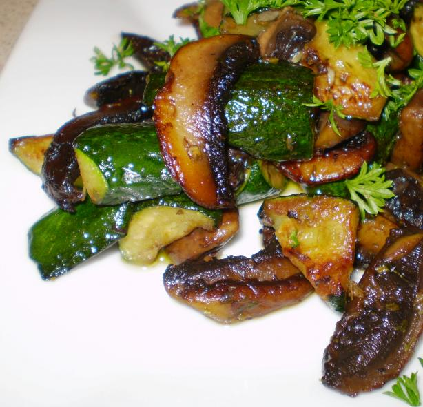 Williams-Sonoma Sauteed Zucchini and Mushrooms