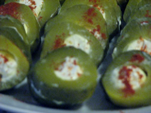Stuffed Dill Pickles