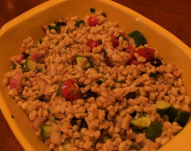 Summer Farro (Emmer) Salad
