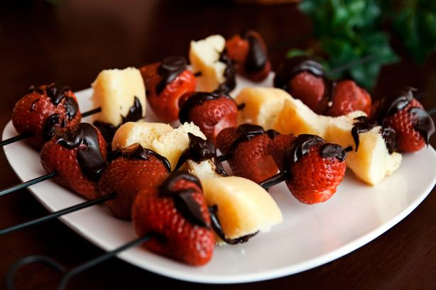 Strawberry Shortcake Kabobs (3 Ww Points)
