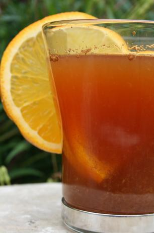 Orange Cinnamon Hot Tea