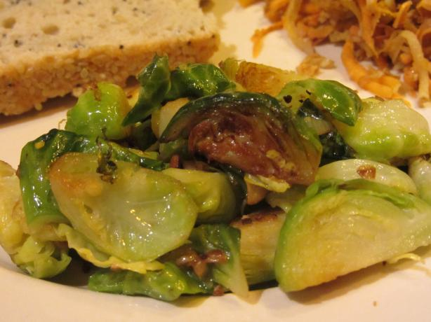 Brussels Sprouts With Garlic and Lemon