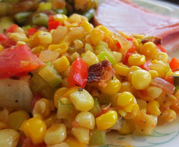 Cajun Smothered Corn