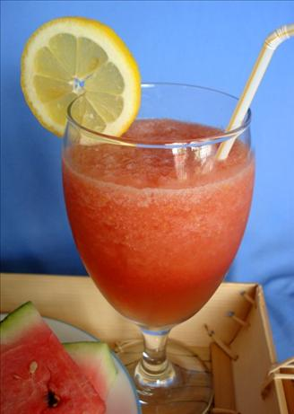 Refreshing Watermelon Frozen Slushy