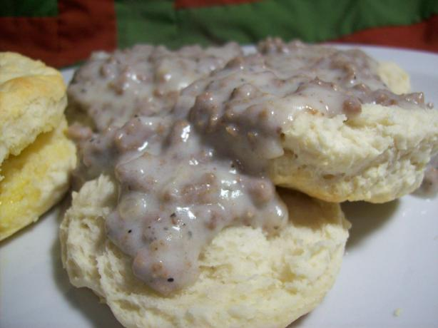 Hamburger Cream Gravy