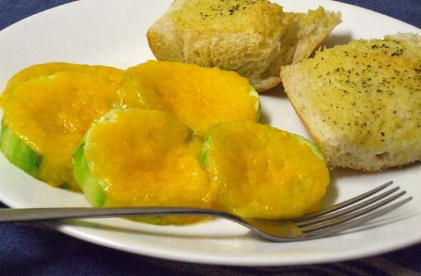 Cheesy Zucchini