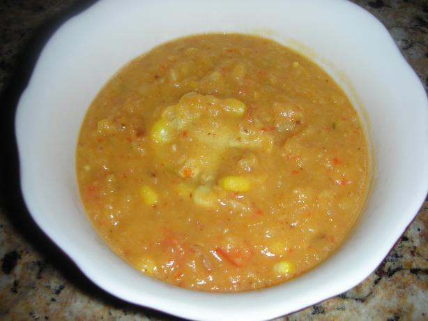 Jamaican Spiced Corn Soup Recipe