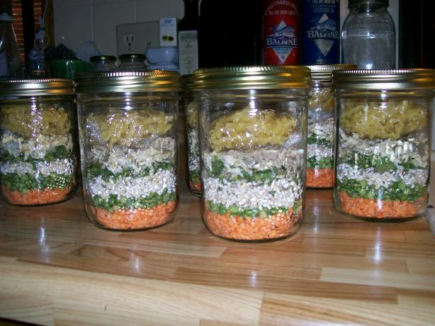Minestrone Soup Gift Mix in a Jar