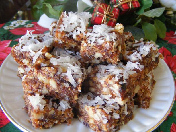 Date Rice Krispies Bars
