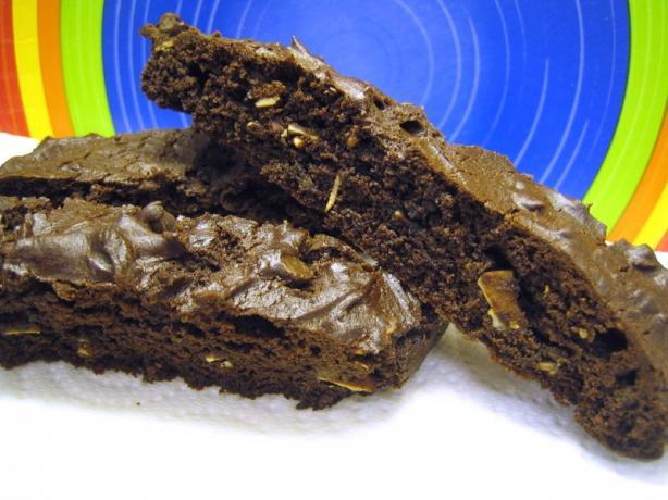 Cake Mix Chocolate Almond Biscotti