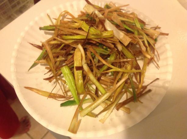 Fried Leeks (Garnish)