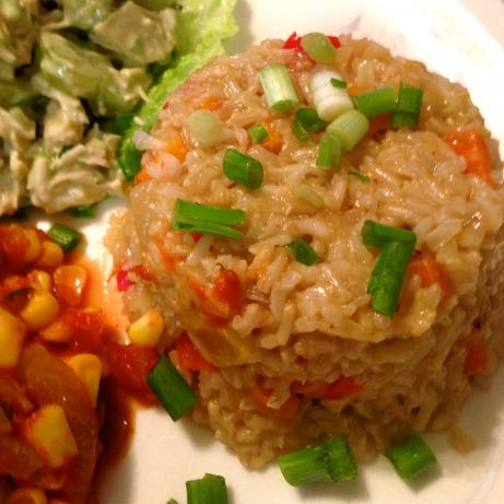 Nif's Pretty Bell Pepper Rice Pilaf