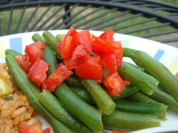 Easy Green Beans Masala
