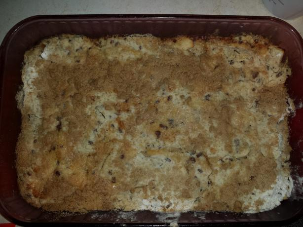 Cake Mix Apple Crisp
