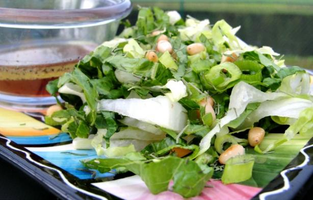 Greek Farmers Green Salad