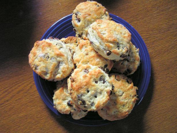 Yummy Raisin Tea Biscuits - No Sugar Added