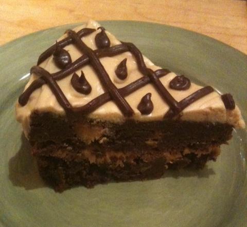 Ultimate Chocolate Peanut Butter Torte