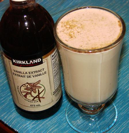 Vanilla and Cinnamon Milk