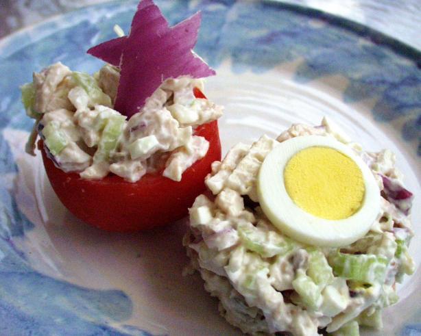 Very Veggie Sorta Chicken Salad