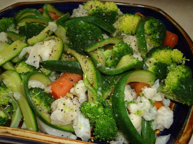 Steamed Vegetable Platter (Gronsaksfat)