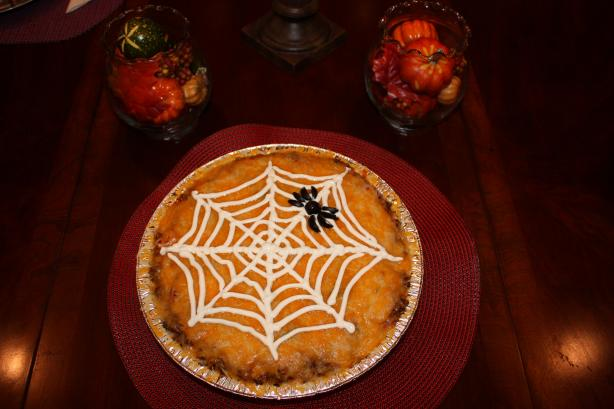 Linda's Spider Web Platter