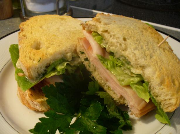 Smoked Turkey and Stilton Sandwich