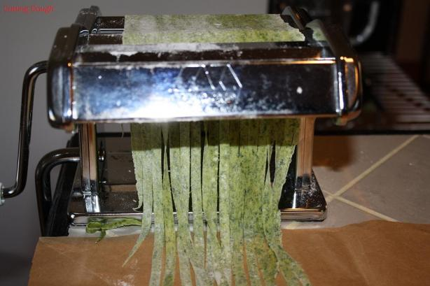 Green Pasta Dough