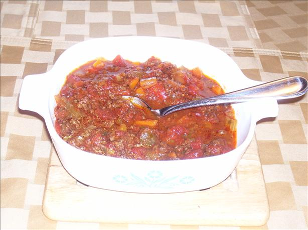 Chunky Pasta Sauce Slow Cooker Style