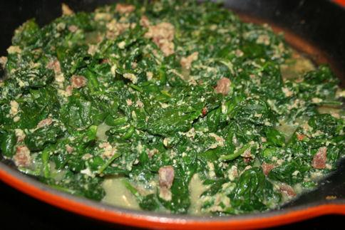 Yummy Cooked Spinach