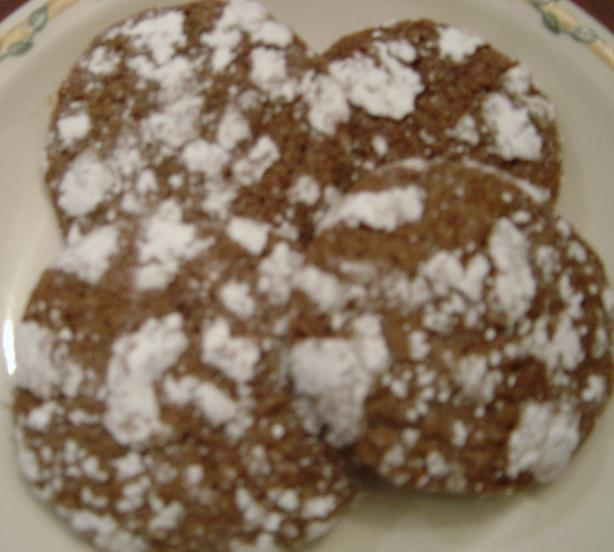 Grammie Bea's Chocolate Crackle Cookies