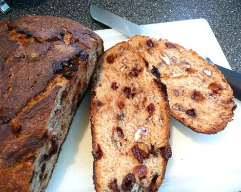Chocolate-Cherry Pecan Bread