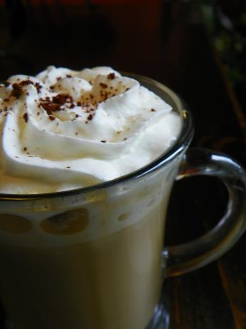 White Chocolate Baileys Latte
