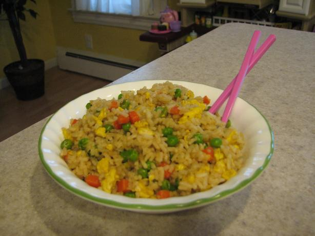 Easy Eggy-Veggie Fried Rice
