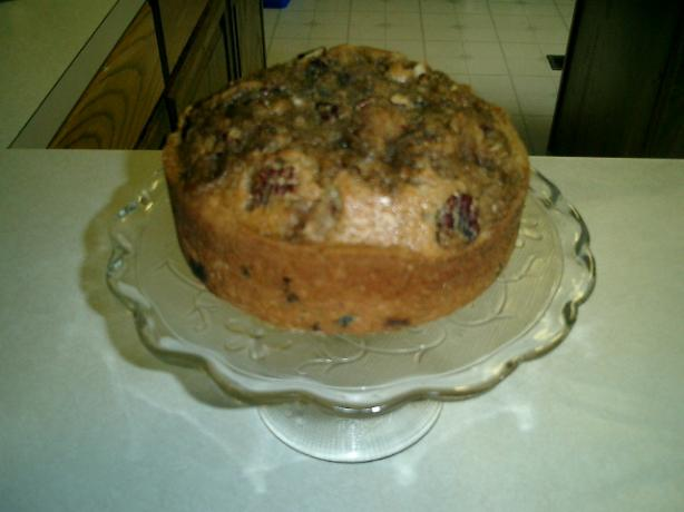 Cranberry and Orange Streusel Cake
