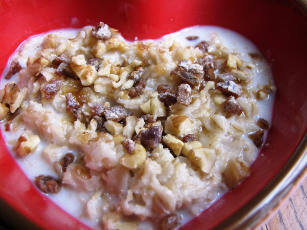 Splenda Walnut Date Oatmeal