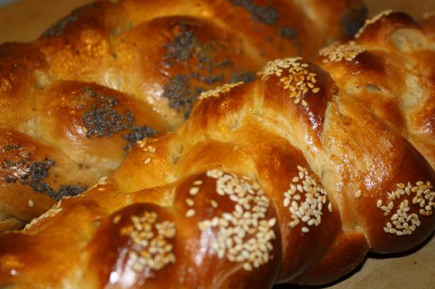 Challah (Braided Egg Bread)